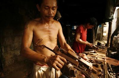 La industria armamentistica artesanal en Filipinas