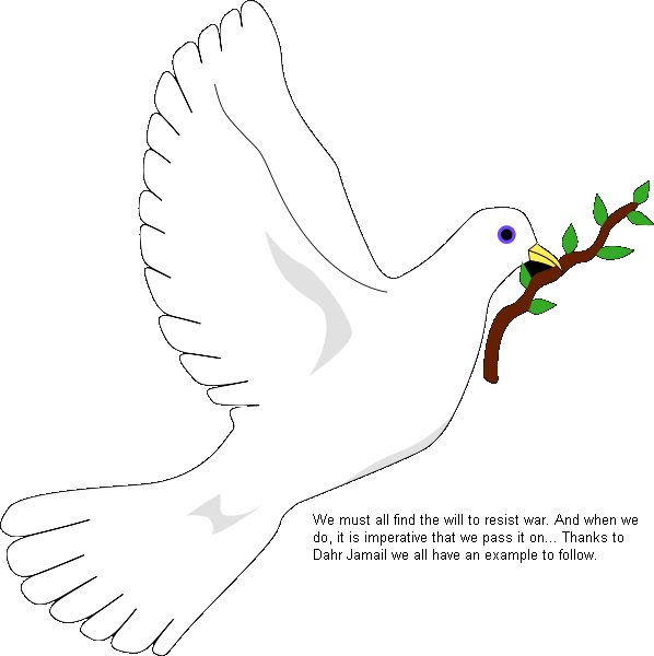 will to resist war peace dove pic