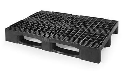 FORTE-PLUS-PE-Palet-plástico-formato-compacto-reja-EUR-800x1200x160mm