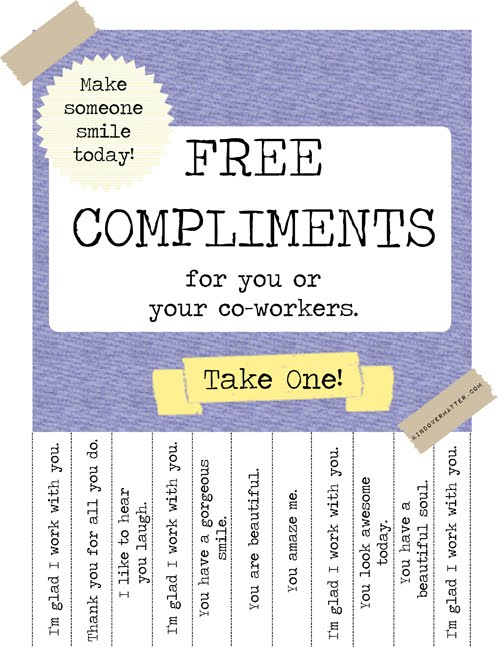 compliments for coworkers | just b.CAUSE