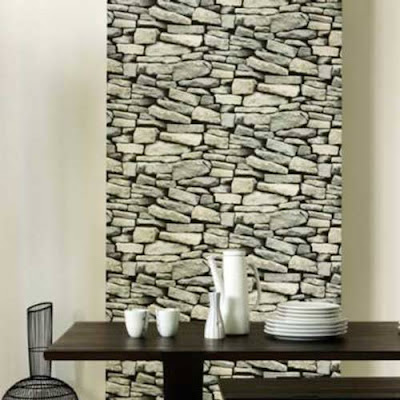 Apuesta por revestimiento piedra revista habitat hogar y vida - Piedra de interior ...