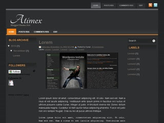 Atimex Blogger Template