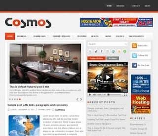 Cosmos Blogger Template