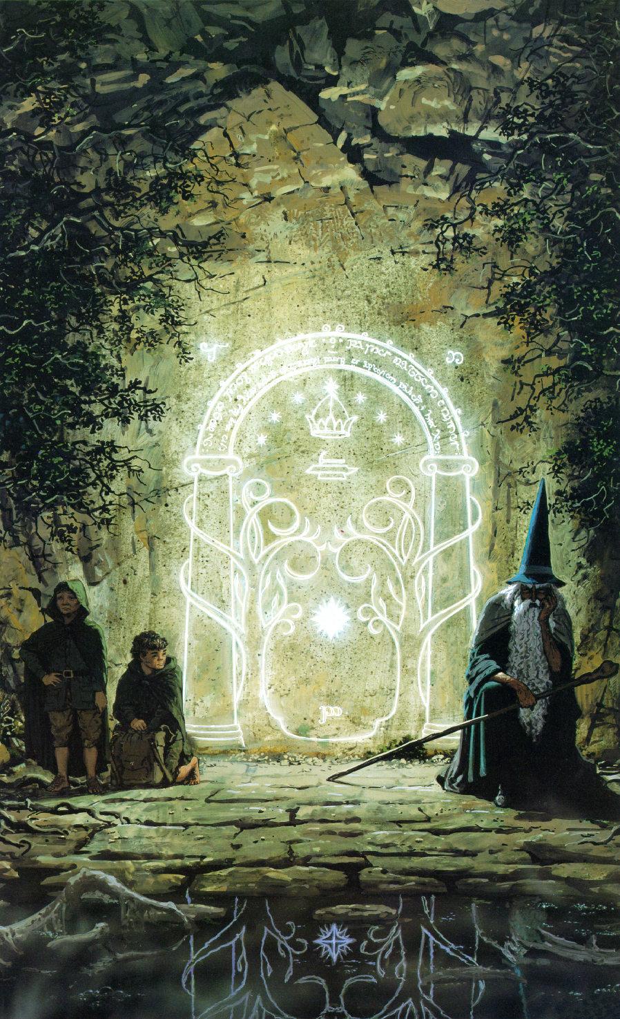 The Moria Door