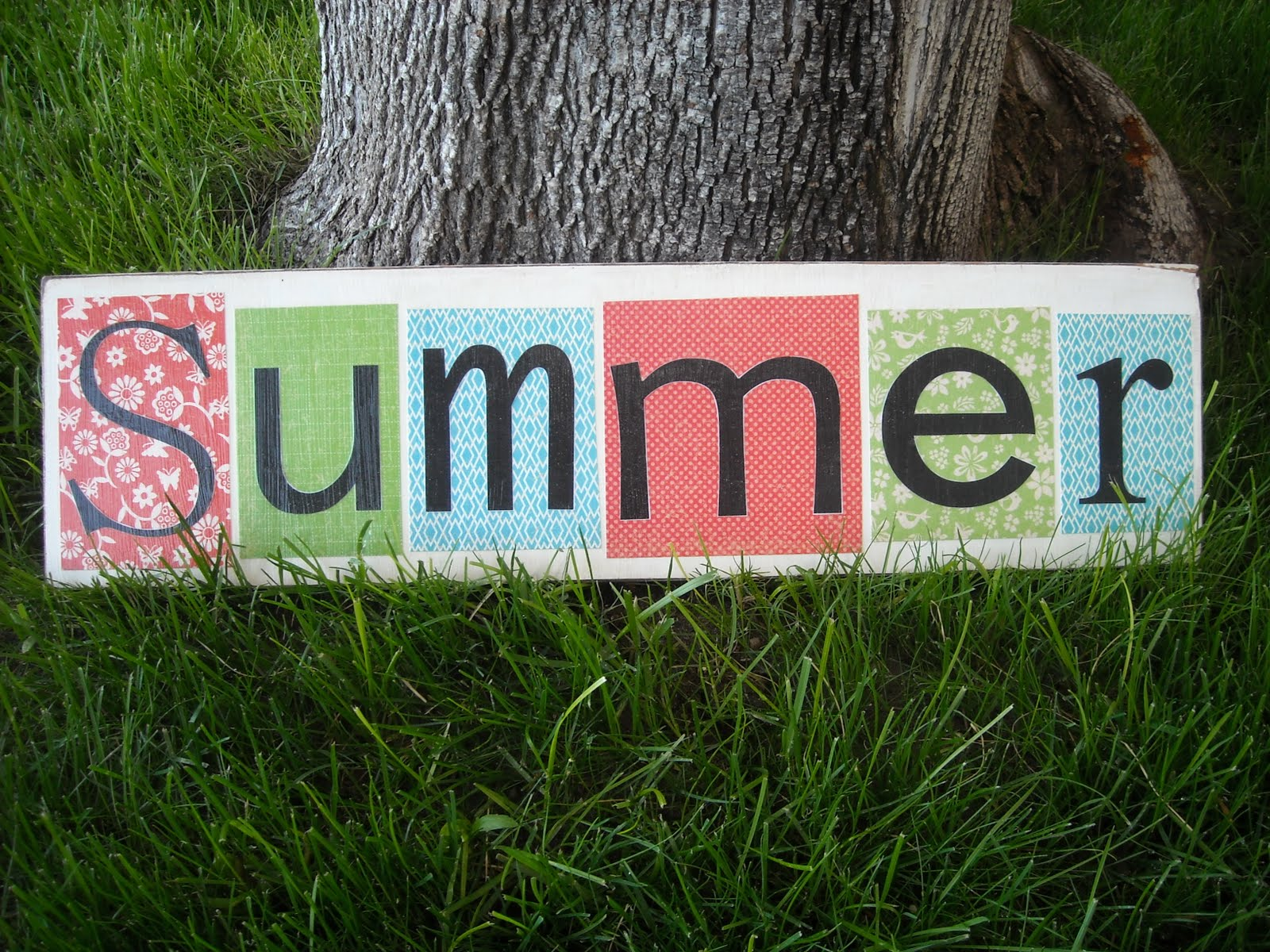keep home simple  summer sign