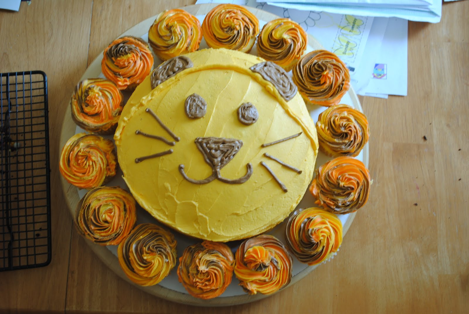 From My Kitchen to Yours: Daniels Lion Cake