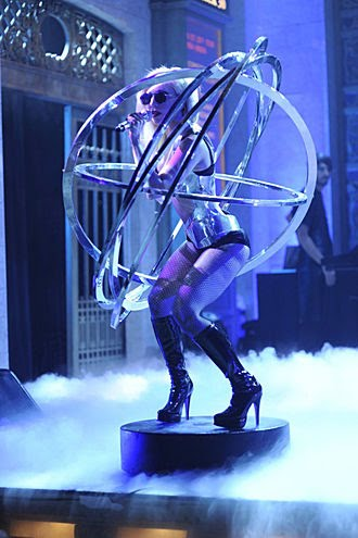 lady gaga orbit outfit. Lady Gaga Will Sing for the