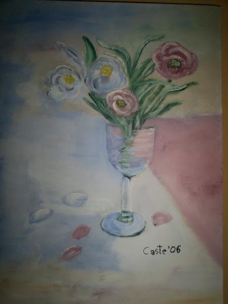 Flores en copa