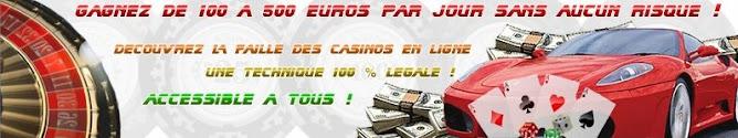 Gagnez aux Casinos
