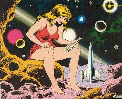 Moon Girl Versus Spaceman