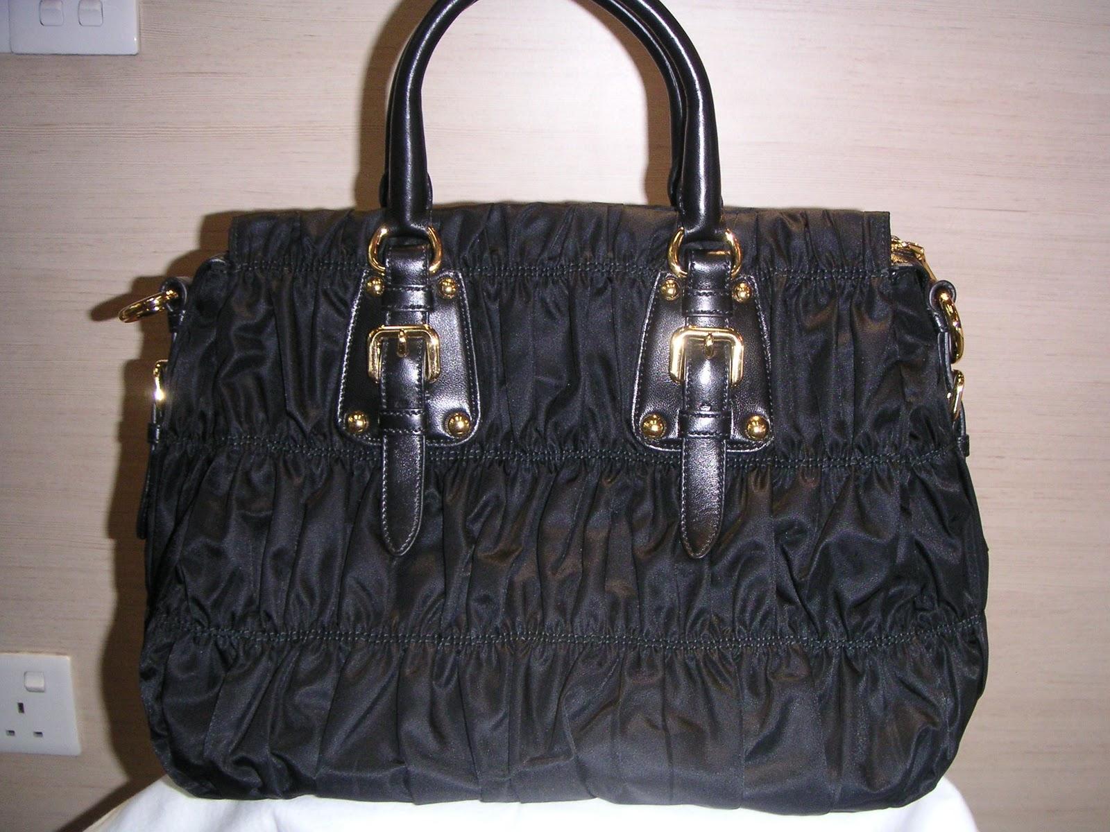 1534a104932d07 Branded Bags-Brand New & Preowned: Brand New Prada BN1336 Tessuto Gaufre
