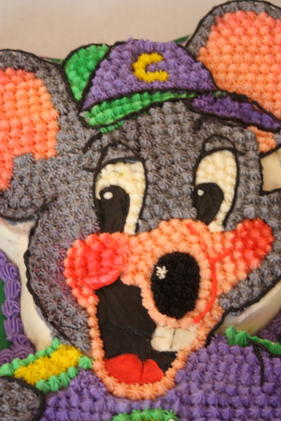 Freya Cakes Chuck E Cheese Birthday