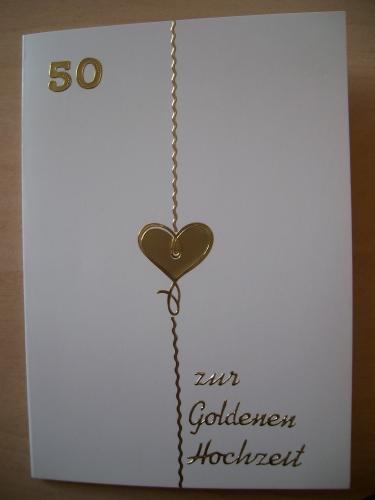 Geschenke zur goldenen hochzeit basteln