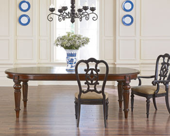 Dining Room Decor Oval Dining Tables