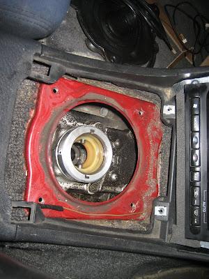 Nissan Shifter Gear Knob Removal