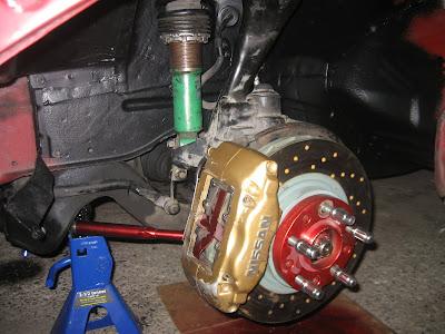 Nissan Skyline Suspension Brakes Rotors Calipers Spacers