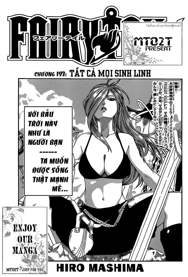 TruyenHay.Com - Ảnh 1 - Fairy Tail Chap 193