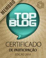 O Blog Dino World participou da edição do Top Blog Brasil 2010