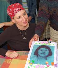 During Chemo, 50th birthday
