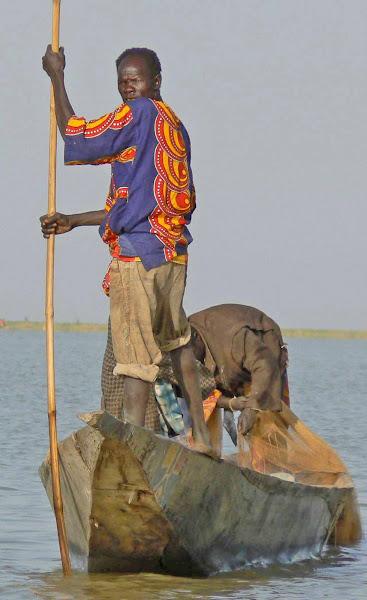 Colorful Fisherman