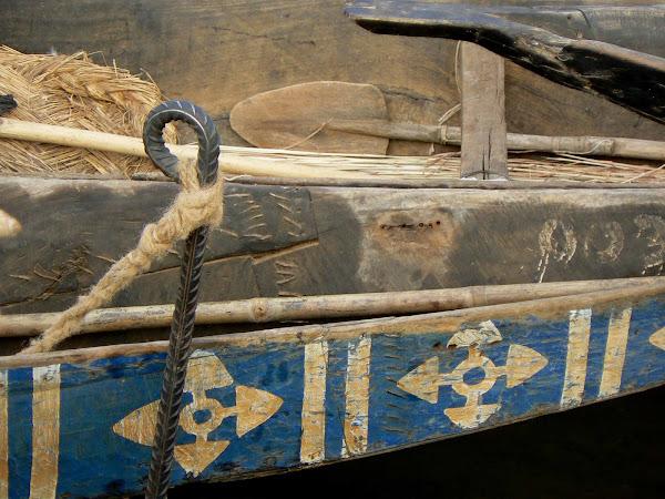 Detail of Pinasse in Segou