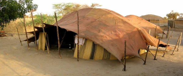 Traditional Tuareg Tent