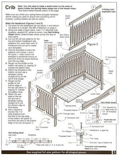Crib building plans over 5000 house plans - Baby crib for small spaces plan ...