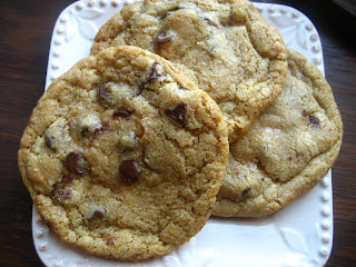 ... : BIG, FAT,CHEWY Chocolate Chip Cookies...And a Whole Wheat Version
