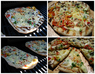 ... : Peter Reinhart's (Napoletana) Pizza Dough....Grilled and Baked