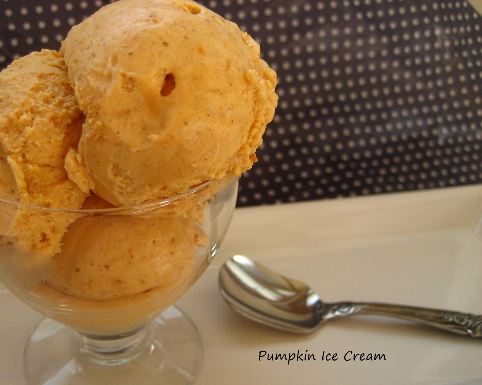 Home Cooking In Montana: Pumpkin Ice Cream