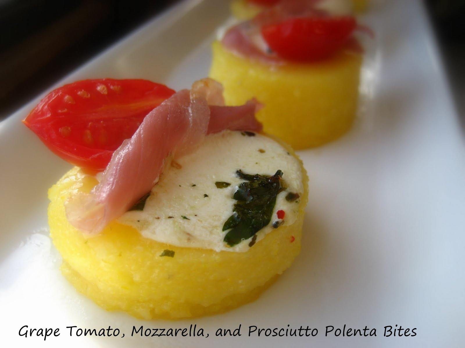Home Cooking In Montana: Polenta Bites...a hot appetizer