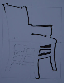 chair, inking in March 07