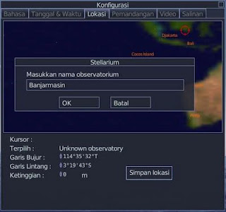 Tentukan lokasi geografis