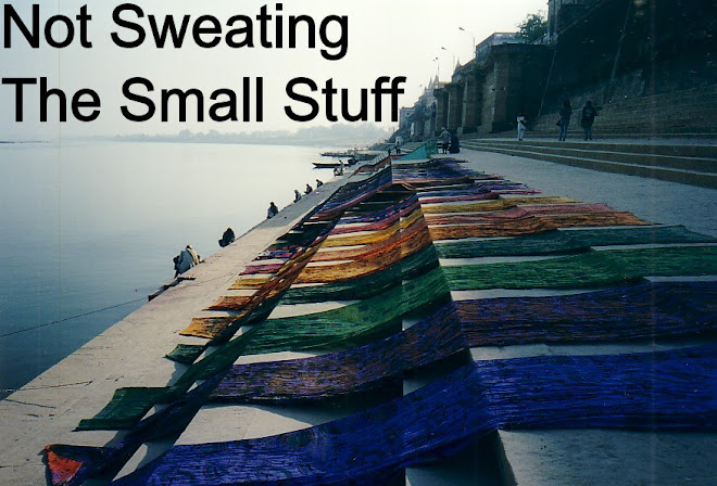 Not Sweating the Small Stuff