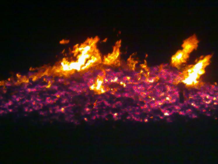 A veces miro el fuego