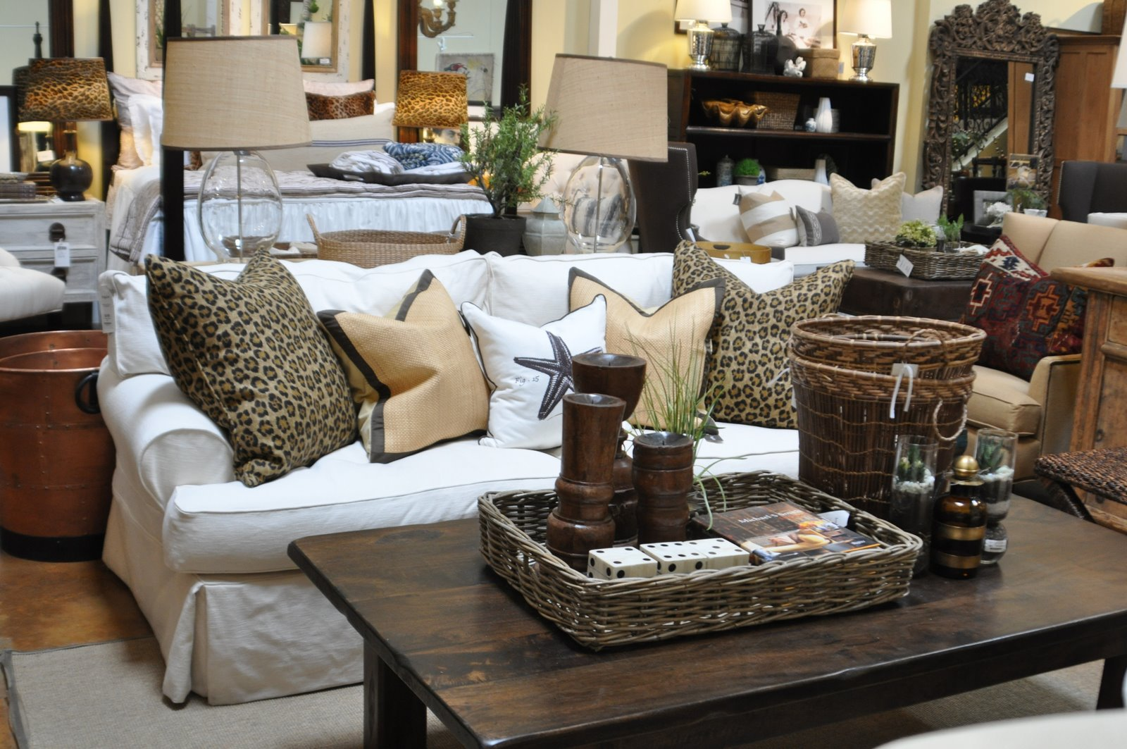 Love this living room.- Western Style Furniture title=