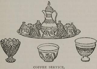 A culinária nos tempos... CoffeeserviceEgipto1890