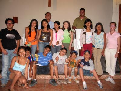 """Grupo de jóvenes Eloim de """"Santísima Trinidad"""""""