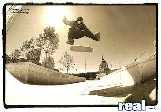 Classic. Drake Jones, SF Library, 360 flip in Timbs. Mid 90's.