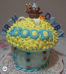 Giant Cupcake - Aboodi's Bday