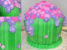 Giant Cupcake - Pink/Purple/Fushia