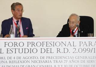 José Luis Delgado con Felio Vilarrubias