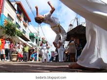 Capoeira na Calçada da Fama