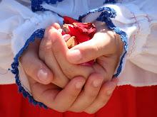 Chegada da imagem da Santa na Casa de Portugal