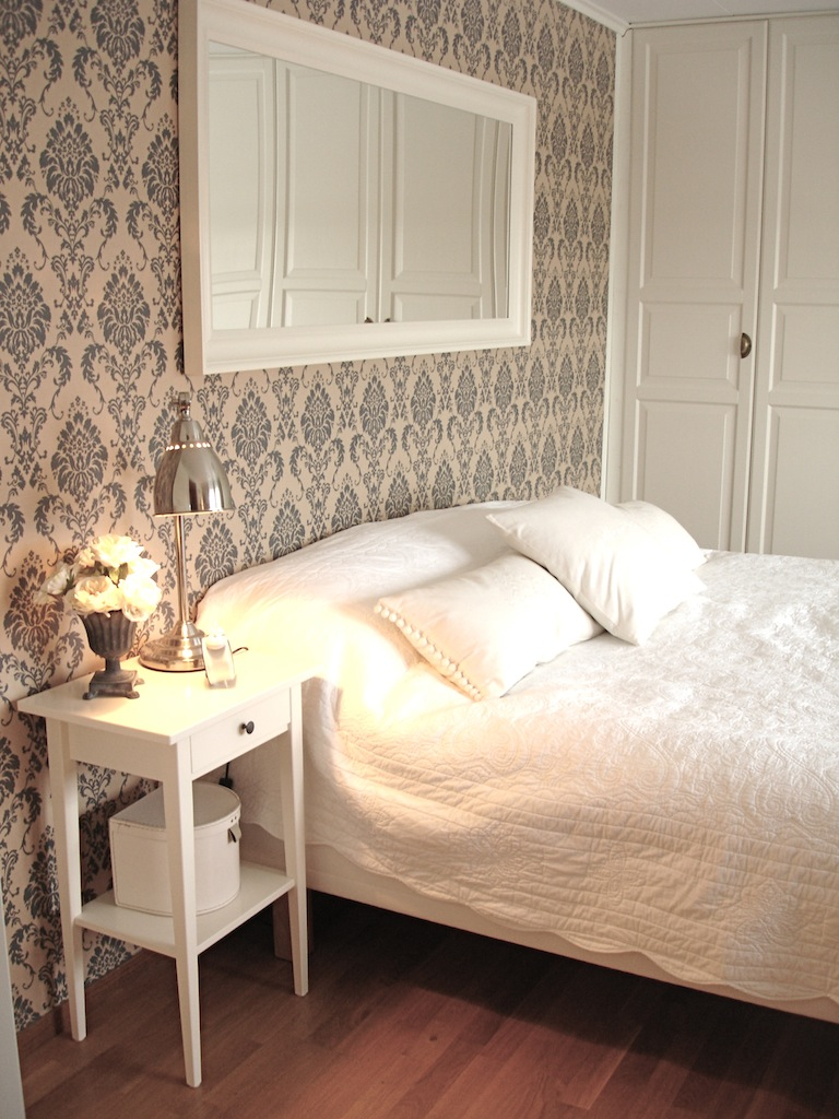 Vit och Pastell: Sneakpeak i sovrummet!