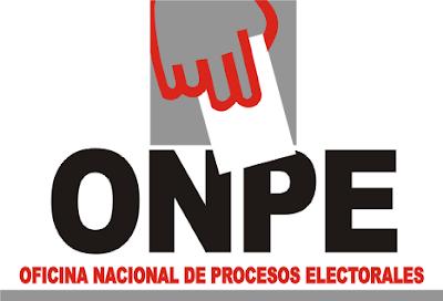 onpe procesos electorales
