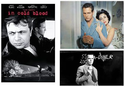 In Cold Blood (1967), Cat On a Hot Tin Roof (1958), Blackboard Jungle (1955)
