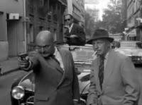 los policías, al puro estilo del cine negro
