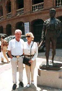 Budd Boetticher en Valencia, año 1995