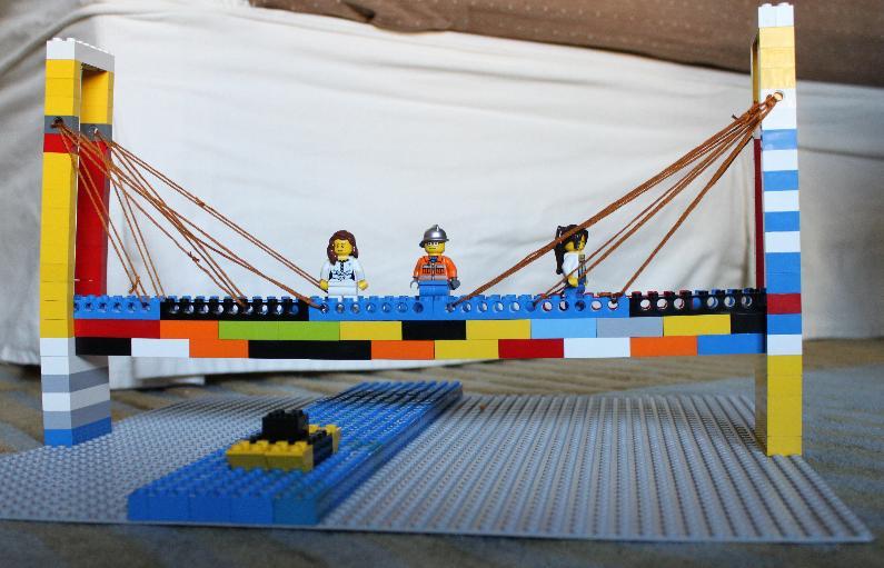 Lego Quest Kids Bridge Photos